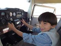 Child in Airplane  1