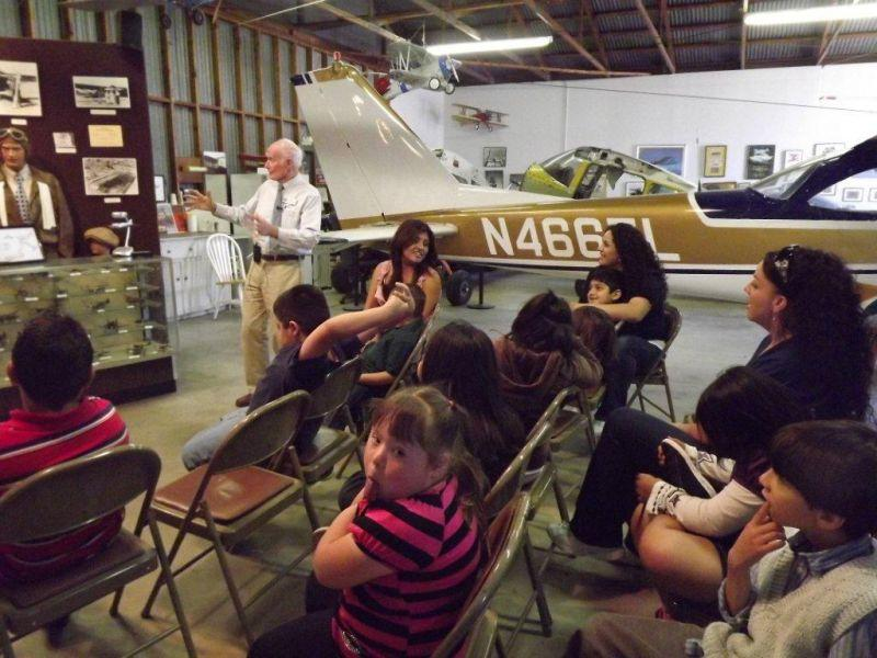 Group in Hangar One